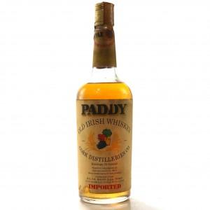Paddy Old Irish Whiskey 1960/70s