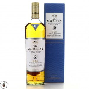 Macallan 15 Year Old Triple Cask
