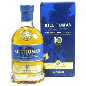 Kilchoman 10th Anniversary Front