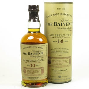 Balvenie 14 Year Old Caribbean Cask Front