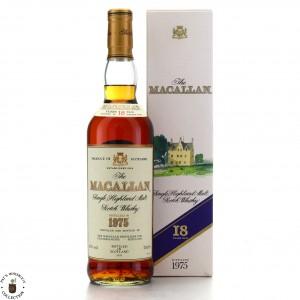 Macallan 1975 18 Year Old / German Import