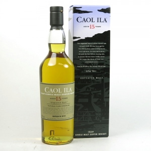 Caol Ila 1988 Unpeated 15 Year Old 2014 Release Front