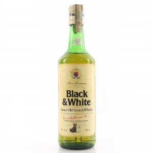 Black and White 1980s / Bacardi Import