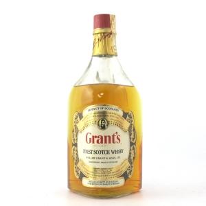 Grant's Finest Scotch Whisky 2 Litre 1960s