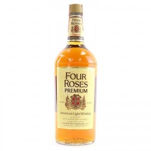 Four Roses Premium American Whiskey Quart 1970s