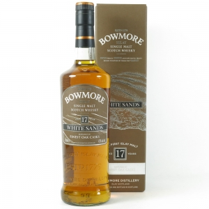 Bowmore White Sands 17 Year Old front