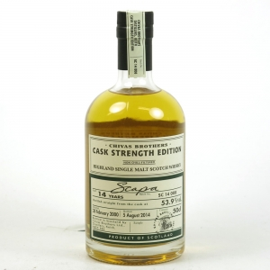 Scapa 2000 Cask Strength 14 Year Old Batch #008 Front