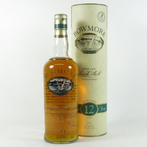 Bowmore 12 Year Old Screen Print Label front
