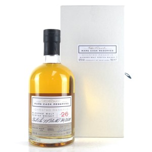 Ladyburn / Inverleven Rare Cask Ghosted Reserve 26 Year Old