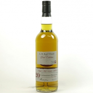 Caperdonich 1992 Dewar Rattray 20 Year Old