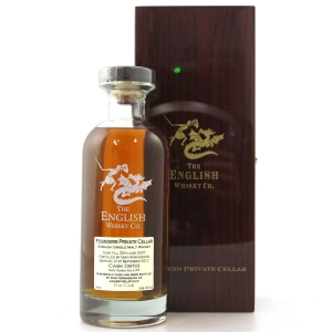English Whisky Co 2007 Founders Private Cellar