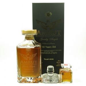 Amrut Greedy Angels 10 Year Old / Including Miniature