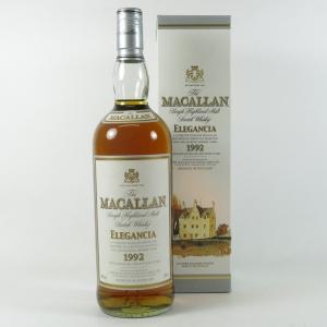 Macallan 1992 Elegancia 1 Litre front