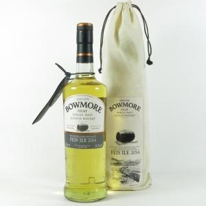 Bowmore Feis Ile 2014 Bourbon Cask front