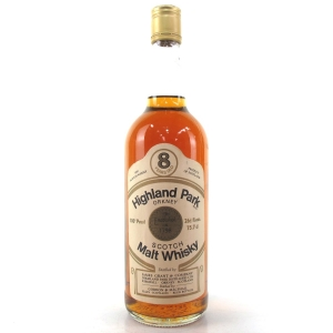 Highland Park 8 Year Old Gordon and MacPhail 100 Proof 1970s
