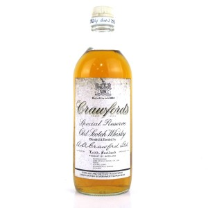 Crawford's Special Reserve 1970s