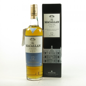 Macallan 12 Year Old Fine Oak Nick Vasey Edition Front