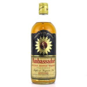 Ambassador Deluxe Scotch Whisky 1960s