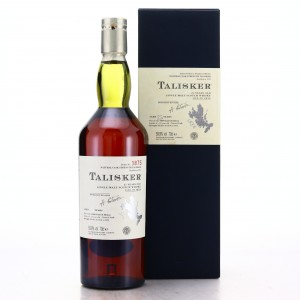 Talisker 1975 Cask Strength 25 Year Old / Inaugural Release