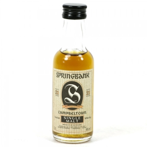 Springbank 21 year old 1990s 5cl