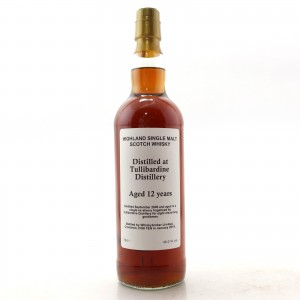 Tullibardine 2006 Private Cask 12 Year Old / Sherry Hogshead