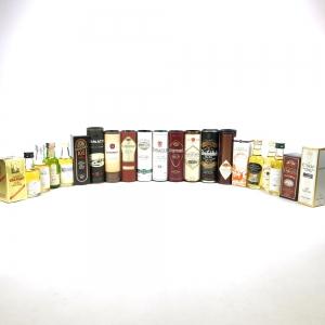 Miscellaneous Miniature Collection 21 x 5cl