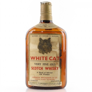 White Cat Fine Old Scotch Whisky circa 1960s
