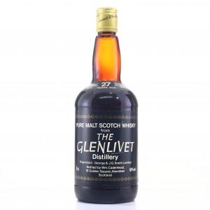 Glenlivet 1954 Cadenhead's 27 Year Old