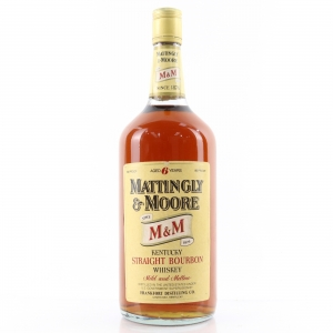 Mattingly and Moore 6 Year Old Kentucky Straight Bourbon 1 Litre