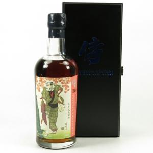 Karuizawa 1984 30 Year Old Cask Single Cask #7843 / Samurai Front