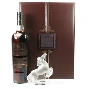 Macallan Oscutro / Lalique Kazak Horse Front