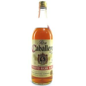 Ron Caballero Puerto Rican Rum 1950s