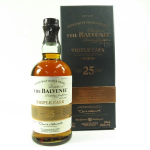 Balvenie 25 Year Old Triple Cask / Travel Retail Exclusive