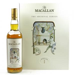 Macallan Archival Series Folio 1 Front