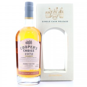 Family Silver 1972 Cooper's Choice 25th Anniversary Blend