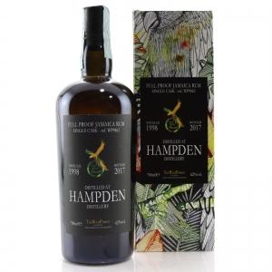 Hampden 1998 Wild Parrot Full Proof Single Cask Jamaica Rum
