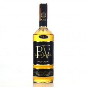 Black Velvet 5 Year Old Canadian Whisky 1980s