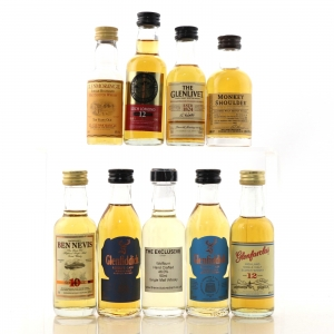 Highland & Speyside Miniature Selection 9 x 5cl