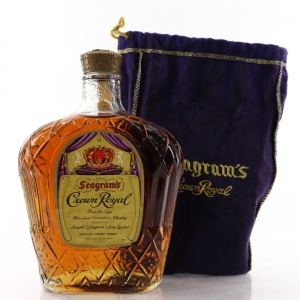 Seagram's Crown Royal 1968 Canadian Whisky