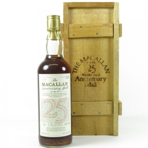 Macallan 1957 Anniversary Malt 25 Year Old 75cl Front