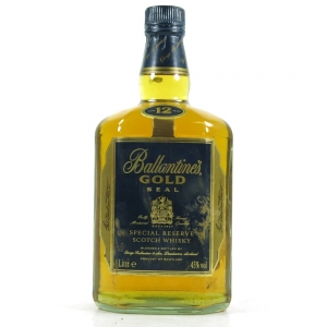 Ballantine's Gold Seal 12 Year Old 1 Litre