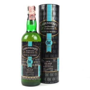 Talisker 1979 Cadenhead's Cask Strength 20 Year Old