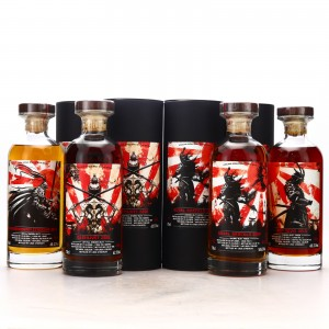 Signatory Vintage Samurai Edition Series 4 x 70cl