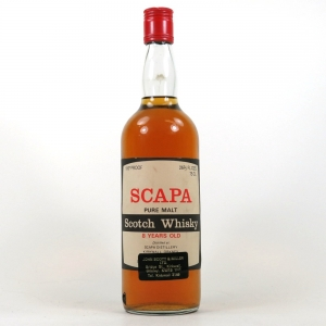 Scapa 8 Year Old Gordon and Macphail 1970s