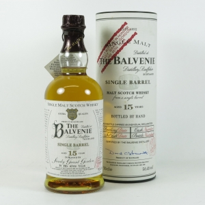 Balvenie 15 Year Old Sandy Grant Gordon Bottling Front