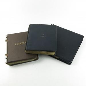 *NEEDS PICS Johnnie Walker Label Collection / 3 Binders