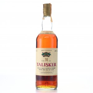Talisker 1956 Intertrade 31 Year Old