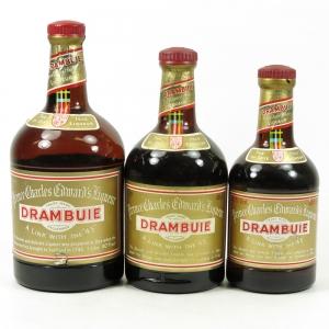Drambuie 1 litre, 68cl & 50cl 1970s