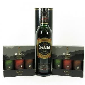 Glenfiddich Selection 6 x 5cl & 70cl