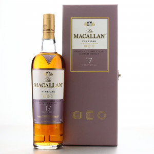 Macallan 17 Year Old Fine Oak